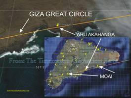 AHU AKAHANGA sets the direction for the GIZA GREAT CIRCLE..tif